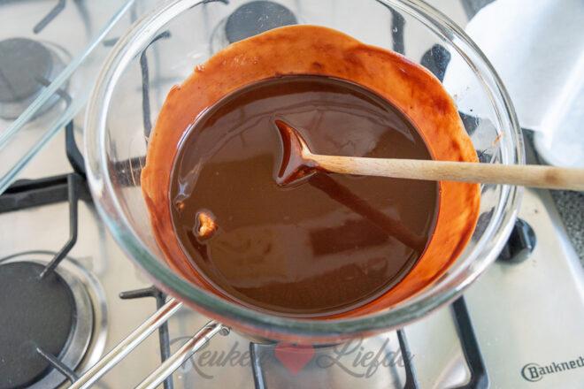 Brownie met fudge en noten