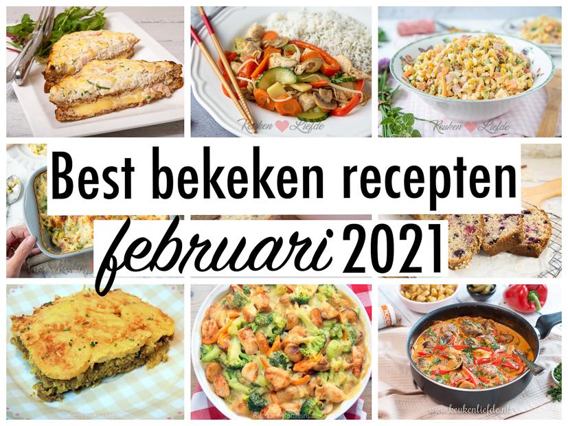 10 best bekeken recepten van februari