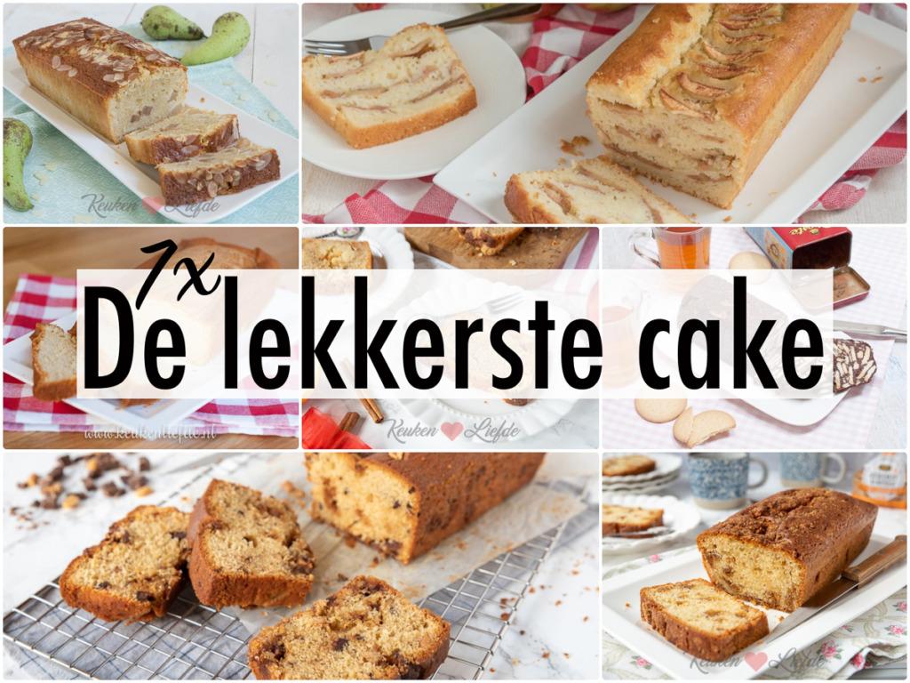 7x de lekkerste cake