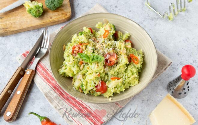 Italiaanse broccolistamppot