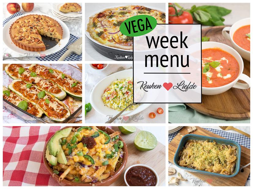 Weekmenu - Nationale Week Zonder Vlees
