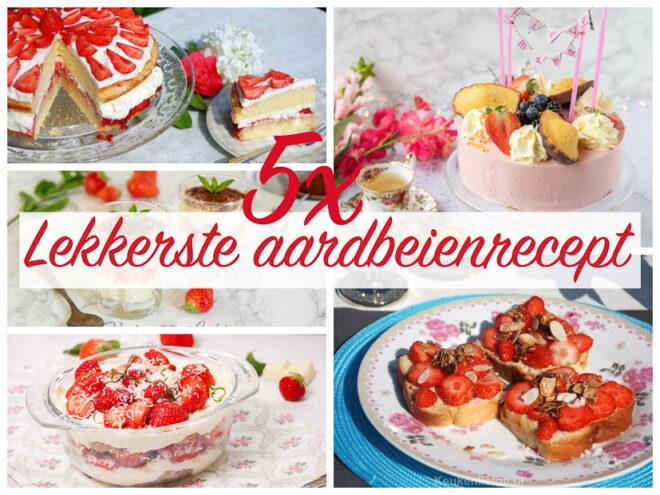 5x lekkerste aardbeienrecept voor Moederdag!