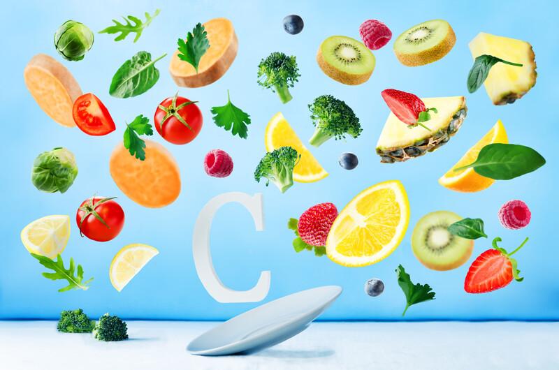 Hoe krijg je veel vitamine C binnen?