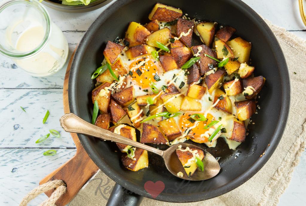 Aziatisch aardappelpannetje