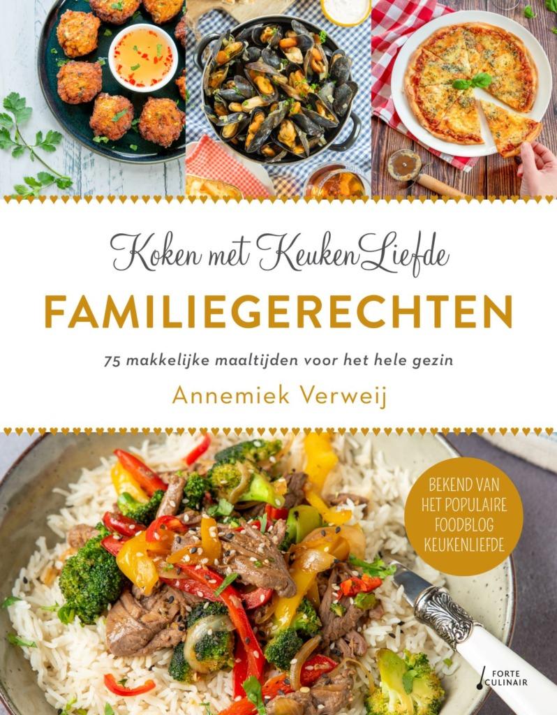 Reserveer ons nieuwste kookboek: FAMILIEGERECHTEN
