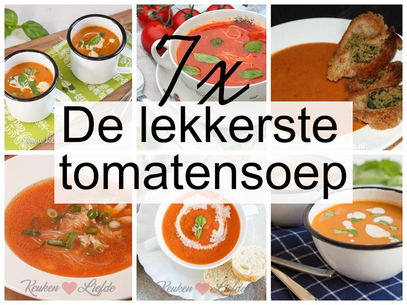 7x de lekkerste tomatensoep