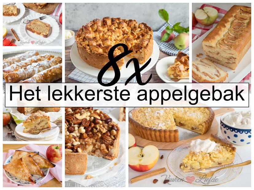 8x het lekkerste appelgebak