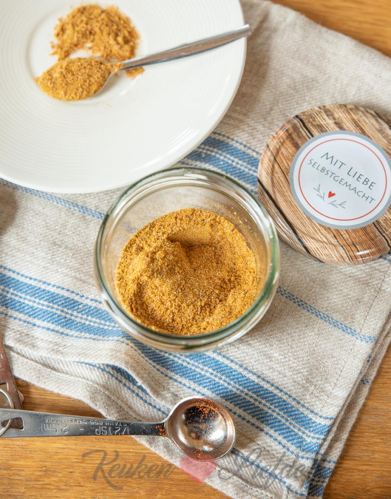 Kruidenmix voor nasi, bami of mihoen (zonder zout)