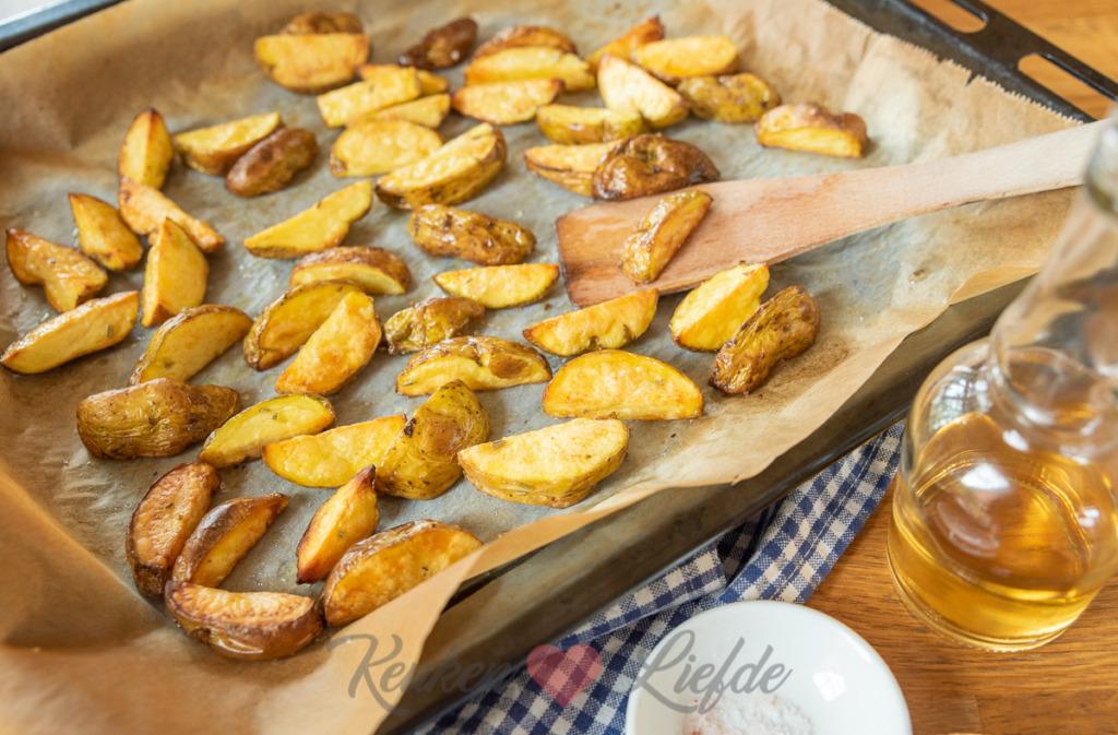Rustieke aardappeltjes uit de oven